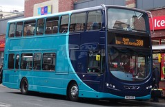 Whitley Bay (Andrew Stopford) Tags: nk13azd volvo b5lh hybrid wright eclipse arriva whitleybay