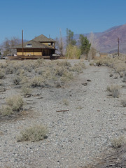 Lone Pine Train Depot 04 (▓▓▒▒░░) Tags: california west coast historic desert abandoned ruins highway 395 owens valley sierra nevada mountains eastern lone pine big independence bishop randsburg