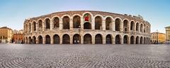 arena di Verona (pano with 6 photos) (Flavio Ciarafoni) Tags: arena di verona fuji x100 pano flavio ciarafoni roman amphitheater anfiteatro romano