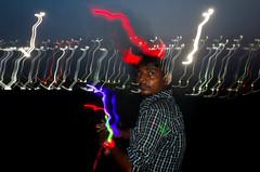 Marina Beach, Chennai, 2017 (bmahesh) Tags: marinabeach chennai tamilnadu india people night life flash ricohgr wwwmaheshbcom