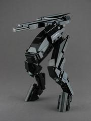 VIOLISE Stealth Sniper (mondayn00dle) Tags: lego mech mecha stealth sniper black