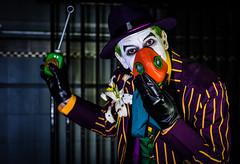What a Gas! (ryanhooper1) Tags: cosplay joker batman suit sharp gas gasmask dc comics nostrobistinfo removedfromstrobistpool seerule2