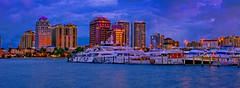 City of West Palm Beach, Palm Beach County, Florida, USA (Jorge Marco Molina) Tags: westpalmbeach palmbeachcounty city cityscape urban downtown skyline southflorida density centralbusinessdistrict skyscraper building architecture commercialproperty cosmopolitan metro metropolitan metropolis sunshinestate realestate highrise