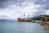 Spanish Galleon at Kolocep Island