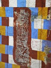 Cuadriculado (Alveart) Tags: guatemala centroamerica centralamerica latinoamerica latinamerica alveart luisalveart quiche elquiche chichichichicastenango ladino colorful arc arco gucumatzguatemala