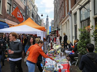 Free market in the heart of the Jordaan