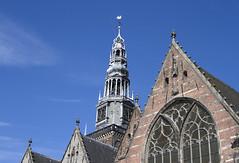 Oude Kerk (srchedlund) Tags: amsterdam oudekerk gothicbasilica srchedlund architecture kyrka spira