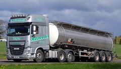 DAF XF - MATHESON'S Elgin (scotrailm 63A) Tags: lorries trucks tankers