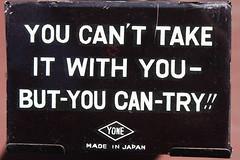 Coffin Bank (Yone 1960's) (Donald Deveau) Tags: coffinbank tintoy toys skeleton yone japanesetoy