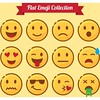 free whatsapp vector Flat Funny emoji Collection Emotion (cgvector) Tags: avatar cartoon character collection cry cute design element emoji emoticon emoticons emoticonsicons emoticonsiconsdesign emotion emotions expression face flat free freewhatsapp freewhatsappvector fun funny glasses head icons illustration isolated language out sad set shiny sick sign smile symbol tears thoughtfulhappy tongue vector whatsapp whatsappvector