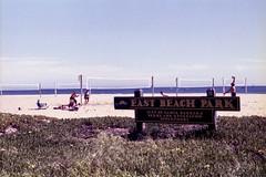 East Beach Park (edwardconde) Tags: film minolta x570 fujicolor200 c200 santabarbara california carpinteria lifeguard c41 self processed aristac41kit