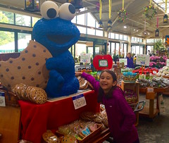 Cookies are all mine! Mine! (ole_G) Tags: cookiemonster lexington wilsonsfarm cookie market shopping boston