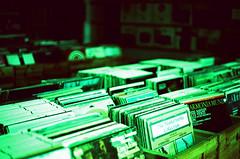 Hangzhou Vinyl Shop (qw0aszx) Tags: kodakelitechrome100 35mm film canonae1 china hangzhou
