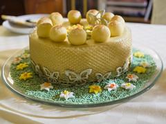 Simnel cake (James E. Petts) Tags: baking balls cake decorated decoration easter marzipan simnelcake