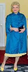 Birgit024056 (Birgit Bach) Tags: cape dress kleid pleatedskirt faltenrock