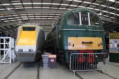 APT and Class 71 (372Paul) Tags: nrm shildon nationalrailwaymuseum steam diesel electric e5001 class71 deltic lner emu 2hap black5 5000 sanspareil apt advancedpassengertrain