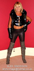 ALEX 985 (SHINY IMAGE) Tags: woman alex leather fetish shiny dress boots vinyl belts rubber apron plastic glossy gloves latex hood gummi raincoat macs rainwear kinky catsuit pvc waterproof jumpsuit botas pu plastique maddison thighboots mackintosh stiefel wetlook sbr regenmantel impermeables lackmantel