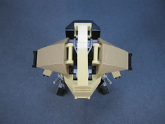 Top view (Messymaru) Tags: original infantry robot lego grunt mecha mech moc