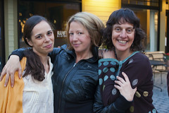 Happy Ladies (milfodd) Tags: christy andrea may karen artshow rhinebeck 2013
