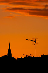 Nap, lement e? (Janos Krnak) Tags: sunset london canon crouchend 100mmf28