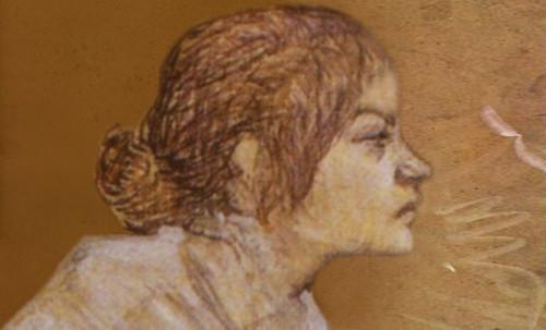 "Las Madeleines escuchando la soleada soledad, descripciones de Henri de Toulouse Lautrec (1889) y Pablo Picasso (1904). • <a style=""font-size:0.8em;"" href=""http://www.flickr.com/photos/30735181@N00/8815718602/"" target=""_blank"">View on Flickr</a>"