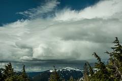 Clouds over Revillagigedo (mind candy06) Tags: mountains nature alaska clouds canon landscape outdoors island hiking naturallight ketchikan brownmountain outdoorphotography revillagigedo 40d mindcandy06