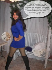 Happy Holiday Weekend (Original photo moved. See description.) (Veronica Mendes (formerly Toni Richards)) Tags: black cute sexy tv long dress transformation legs jane cd mary adorable makeup fishnet crossdressing tgirl transgender wig transvestite toni ecstasy lipstick flapper euphoria lovely maryjanes richards transgendered crossdresser ts maryjane tg stilettos lbd janes patent mtf travesti transgirl transwoman tonirichards
