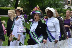 2013-06-15: Singing Voices (psyxjaw) Tags: london festival march women suffrage russellsquare wilding londonist suffragettes