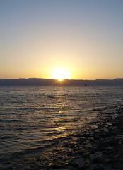 (litla) Tags: sunset beach redsea olympus jordan aqaba talabay