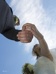 Together (Chris Lishman) Tags: uk wedding big hands couple day wed rings together newlyweds weddingphotography specialoccasion doxfordhall chrislishman chrislishmanphotography michaelpamelanewman