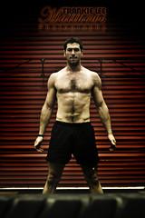 Harry Dunlop - CF Carnegie (Frankie Lee Matthews) Tags: red muscles garage flip motivation workout fitness gym tyre determination wod crossfit