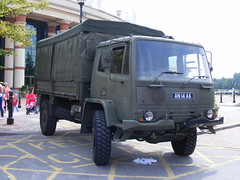 2671 - Military - Leyland DAF - NWG - AN 14 AA - DSCF8477 (Call the Cops 999) Tags: uk manchester army day open britain military centre united great 8 kingdom august vehicles gb vehicle service british emergency trafford thursday 112 services 999 2013