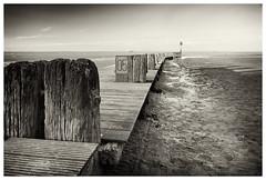 IMGP6620 B&W (big_ianpaulbullivant) Tags: sunset people blackandwhite colour landscape seaside skies lincolnshire coastal beaches cleethorpes eastcoast northeastlincolnshire cleethorpesbeach