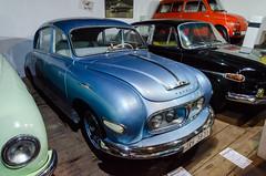Tatra 600 Tatraplan (1951) (The Adventurous Eye) Tags: classic cars club private 600 tatra nad klub depository modernized klubu tatraplan bystice 600603 perntejnem depozit modernizovan