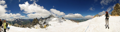 Panorama from Hintertux Gletscher 3250m