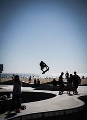 Mid Flight Eye Catching (rjqfx) Tags: california park venice losangeles unitedstates skate boarding