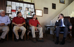 Governor Bentley Visits Wetumpka, Al on Road to Economic Recovery Tour