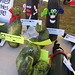 Zucchini art competition entries, vegetables/mixed media. One of many events at the annual Fall Harvest Festival at the Glengarry Pioneer Museum in Dunvegan, Ontario. September 15, from 10:30 am to 4:00 pm.