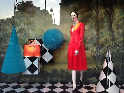 Vitrines Dior - Paris, juillet 2013