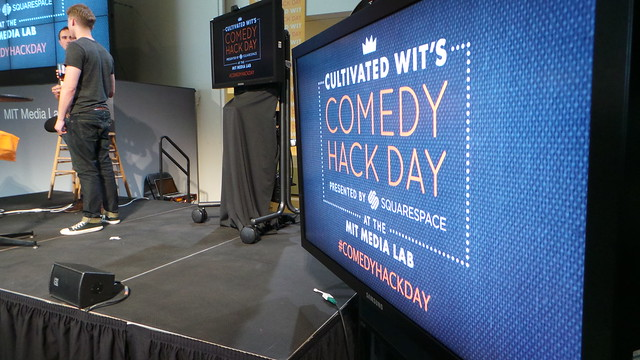 Cultivated Wit Comedy Hack Day at MIT Media Lab