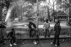 Waiting for government shutdown in the Bronx (Giovanni Savino Photography) Tags: street newyork youth america waiting bronx streetphotography streetphoto onenation housingproject governmentshutdown magneticart giovannisavino inequalityinamerica troubledamerica