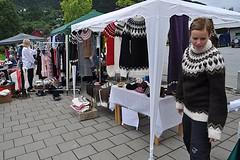 Mobile sweater shop (Mytwist) Tags: woman wool sweater warm icelandic lopi sweatergirl peysa peysu