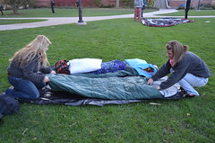 "Sleep Out on the Quad 2013 6 • <a style=""font-size:0.8em;"" href=""http://www.flickr.com/photos/52852784@N02/10536811763/"" target=""_blank"">View on Flickr</a>"