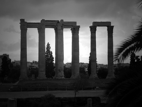 Temple du Dieu Olympien, Athènes, Grèce