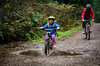 Riding Through Puddles (r3m00r3) Tags: water mary riding northvancouver seymour splash puddles 5years 46mm fishermanstrail 1685mmf3556 1125secatf50 nikond7000