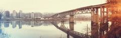 Ross Island Reflections (Ben McLeod) Tags: bridge reflections river willametteriver rossislandbridge