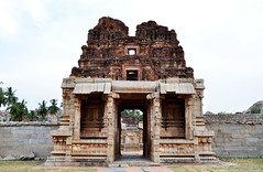 Achyutaraya Temple (a.Muller) Tags: old trip travel wild vacation sky india monument nature architecture geotagged temple photography photo nikon asia photos ruin unesco archeology hampi invaded