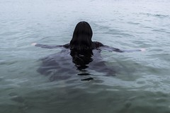 Water series (ellybelly57) Tags: ocean sea water girl hair nikon long university cornwall hand fear help panic portraiture mystical afraid scared mermaid potrait falmouth drown grasp d3200 scred dewika
