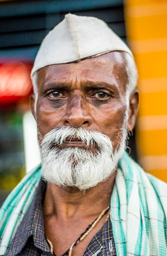 Potrait Of a Man at Pune