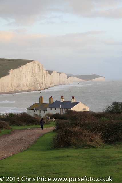 Seven Sisters across Cuckmere Haven